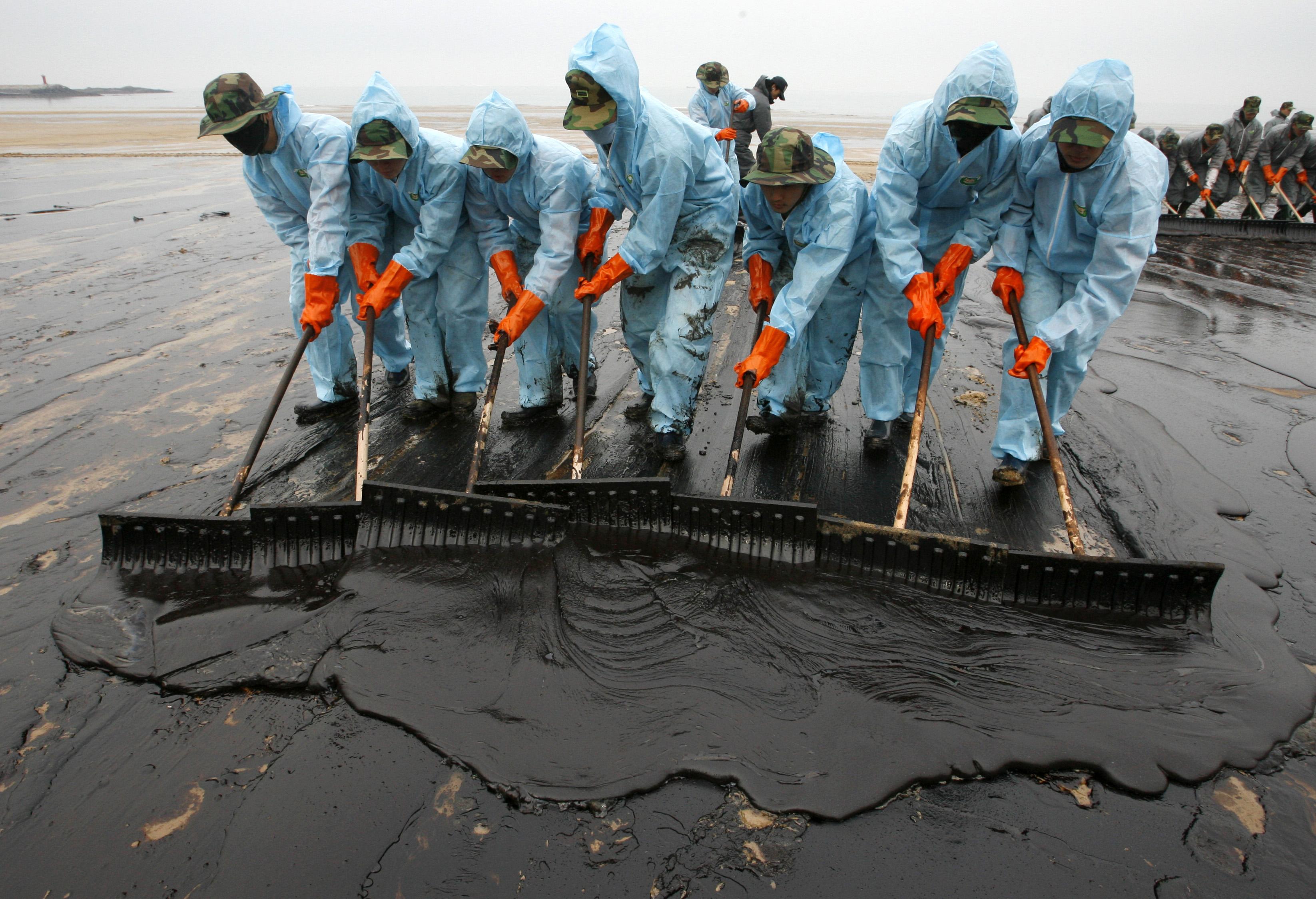 Разлив нефти в мексиканском заливе последствия
