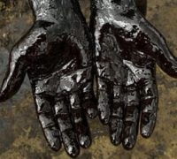 какого цвета нефть