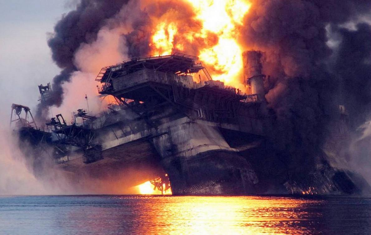 Авария на платформе в мексиканском заливе